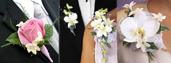 Boutonnieres y Corsages